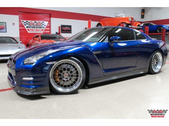 Imagen 1 de Nissan GT-R  blue