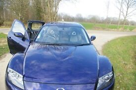 CAR FOR SELL RX8 MAZDA 231 CC ORIGINALY MAZDA IN LONDON BUT NOW REGISTER IN EUROP