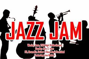 Jazz Jam at The Wesley Anne Northcote Darebin Area Preview