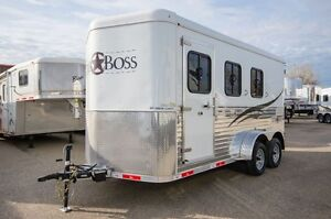 Bison Trail Boss 7300 BP (3 HORSE) Moose Jaw Regina Area image 1