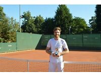 TENNIS LESSONS , TENNIS COACHING , PRIVATE LESSONS.