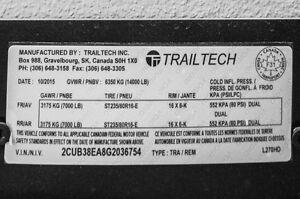 Trailtech DUMP box trailer (L270HD) Moose Jaw Regina Area image 4