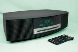 MINT Bose Wave Radio AM/FM iPhone/iPod CD Player/Alarm Clock AWRCC1 Graphite