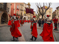Easter holidays in medieval town close to Tarragona, Barcelona