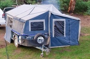 Tru Blu Off-road Camper Trailer Wangaratta Wangaratta Area Preview
