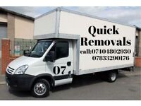 FROM £20.00 🚚 MAN&VAN 🚚 REMOVAL SERVICES ☎️☎️24HRS 🚚 FULLY INSURED,RELIABLE,ON TIME