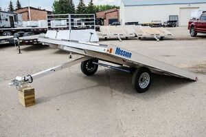 Mission 10' - 2 Place snowmobile trailer (MFS 101X10 DL)