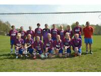 Battyeford Belles Ladies Football club - Players Wanted!!