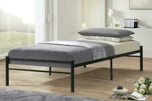 Twin Size Metal Bed Frame only $99, Mattresses from $69. **BRAND NEW** Replaces a Boxspring & Bed Frame .. cheaper too!