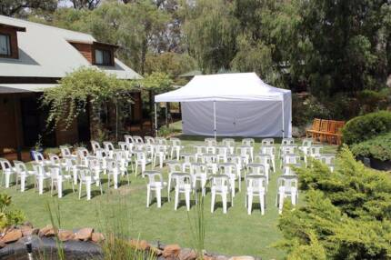 LED Party lights Hire $25, Chairs Hire $1, Marquees Hire $55