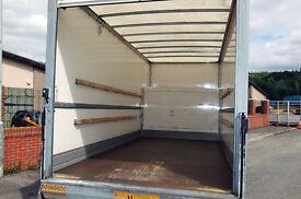 6am-11pm XL LUTON VAN TAIL LIFT man & van hire cheap house removals service furniture derlivery van