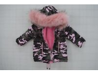 Brand new with tags 6months girls coat