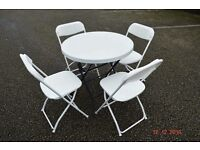Table Chair Hire Rent Party Birthday