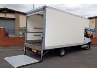 CHEAP MAN AND VAN HIRE BIG LUTON VAN WITH TAIL LIFT PIANO HOUSE MOVERS MOVING VAN MOTORBIKE RECOVERY