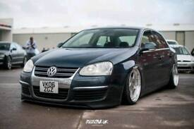 Vw Jetta 2.0TDI on Air Suspension