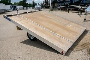 Mission 10' - 2 Place Snowmobile trailer Moose Jaw Regina Area image 3