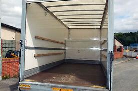 XTRALARGE LUTON TAIL LIFT cheap van hire moving service commercial fridge collection NSWE LONODN 24
