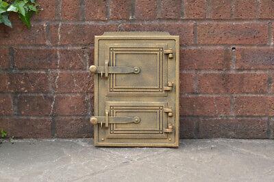 26 x 35 cm cast iron fire door clay / bread oven door / pizza stove doors