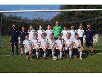 New Milton Ladies Football Club recruiting