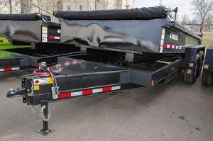 Trailtech DUMP box trailer (L270HD) Moose Jaw Regina Area image 3