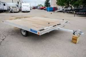Mission 10' - 2 Place Snowmobile trailer Moose Jaw Regina Area image 6