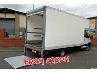 LOW COST MAN AND VAN REMOVALS FROM £20PH