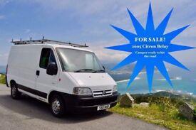 Converted Van FOR SALE £3,000 O.B.O