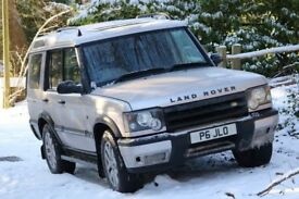 2001 Land Rover Discovery Td5 Auto 7 Seater