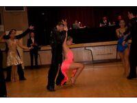 Great Latin dance dress, excellent condition, Swarovski stones