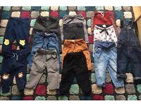 Boys trousers 9-12, 12-18