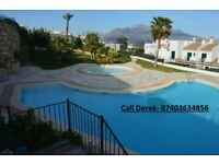 Holiday home available to rent from October to Jan/Feb long term. Polop (near Benidorm) Spain