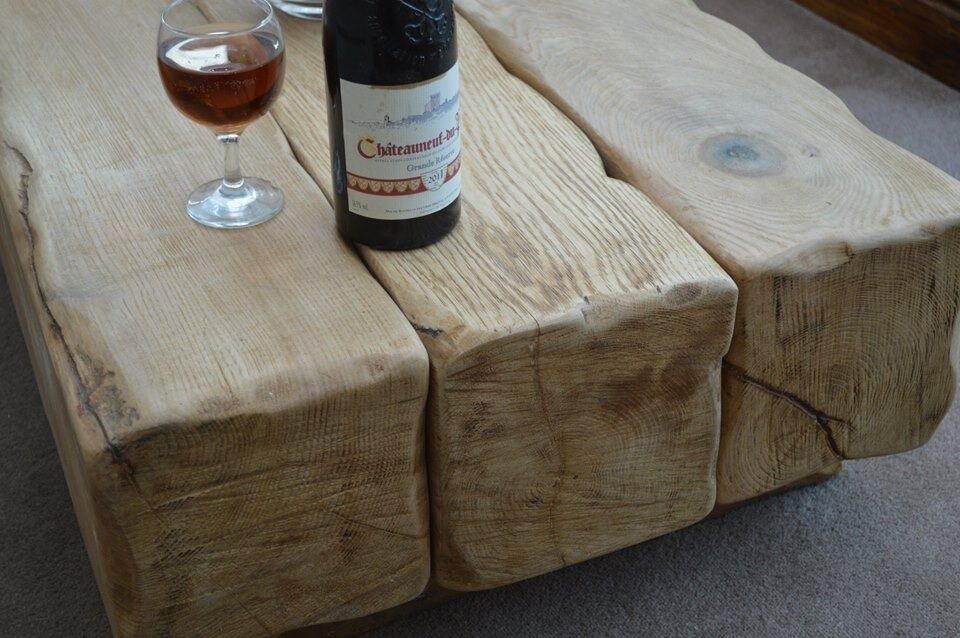 Oak Beam Tables   Made To Your Own Requirements National Delivery  Hand  Made Rustic