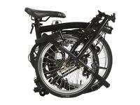 Brompton S2L Black Edition 2015 Folding Bike