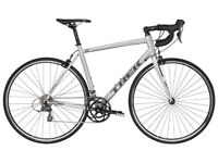 Trek 1.1 C H2 2017 Road Bike Silver Commute Perfect Condition with extras