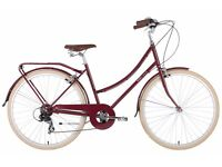 Beautiful red bobbin bike