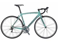 Bianchi Nirone 7 Claris frame size 59cm £500 immaculate condition.