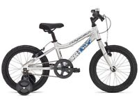 """idgeback MX16 Boys 2017 Bicycle (Silver, 16"""" wheel, used for less than 1 year)"""