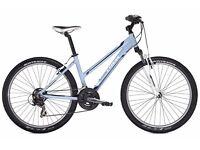 TREK mountain bike ladies - sky blue- almost new