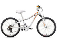"Specialized Hotrock Mountain Bike 20"" 6 speed White and Orange"