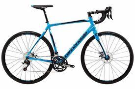 Road bike Cannondale 105 disc 2016 mint condition