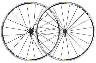 New Mavic Aksium Clincher 700C Front Rear Wheel Set 11 Speed Shimano Sram