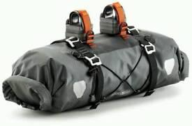 Orlieb handlebar pack for bikepacking