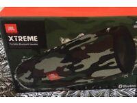 JBL extreme speaker limited edition CAMO print brand new still in box