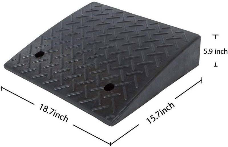5 9 h heavy duty rubber curb
