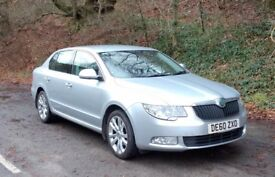 Skoda Superb Diesel Automatic for sale. Very economical, spacious luxury. Full Skoda service history
