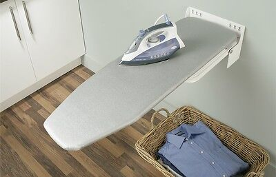 Divider Mounted Ironing Board by Hafele, easy installation, folding