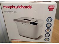 New boxed unused Morphy Richards 48326 Manual Breadmaker - White