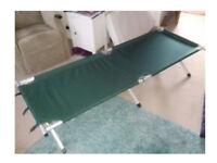 Aluminium Camp-bed. Adult size