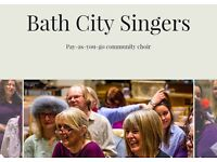 ** Bath Community Choir - no auditions, no subscriptions, no pressure! **