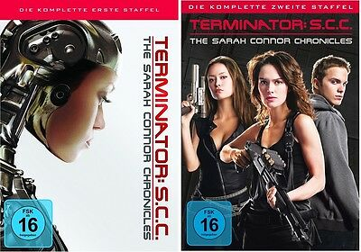 Terminator - The Sarah Connor Chronicles 1+2 (Season/Staffel) * NEU OVP *DVD Set